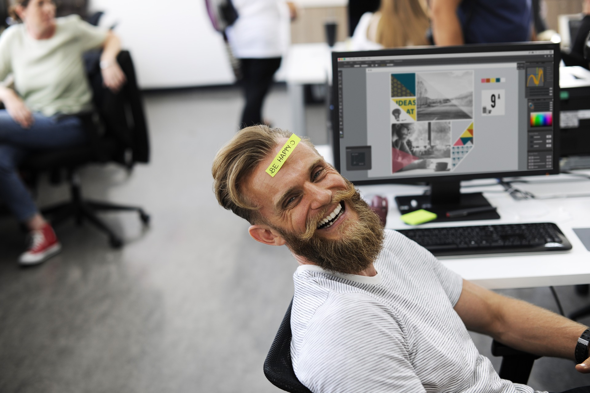 Be happy at work!