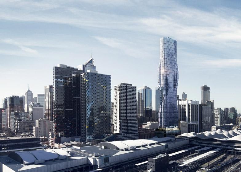 Beyoncé, Melbourne, tower, high-rise, Elenberg Fraser