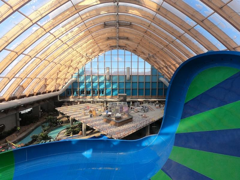 Kartrite water park under construction