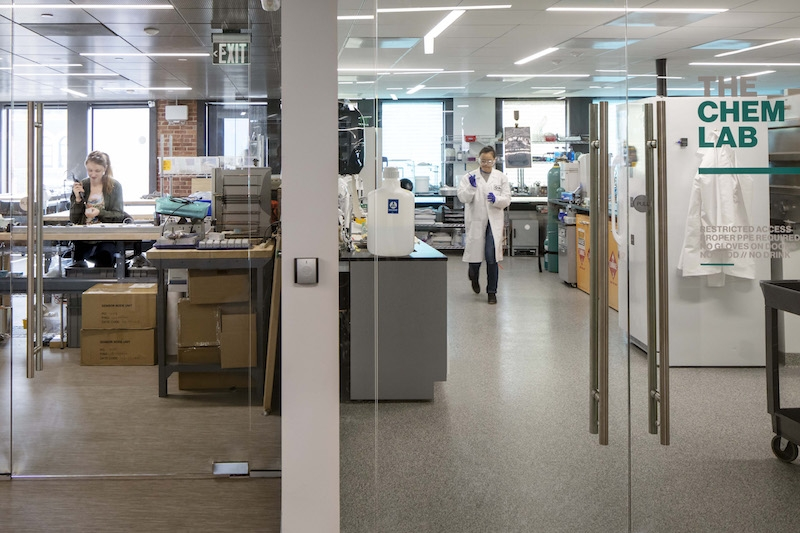 The Engine Chem lab
