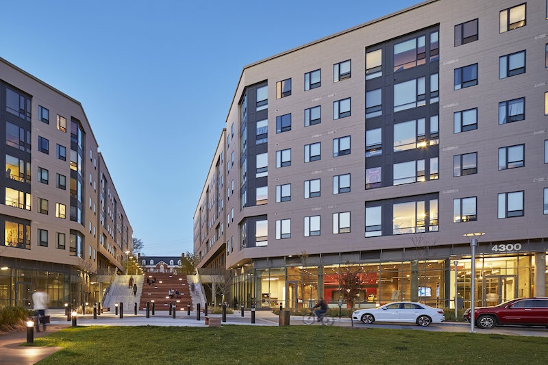 The Village Green at Terrapin Row designed by WDG Architecture