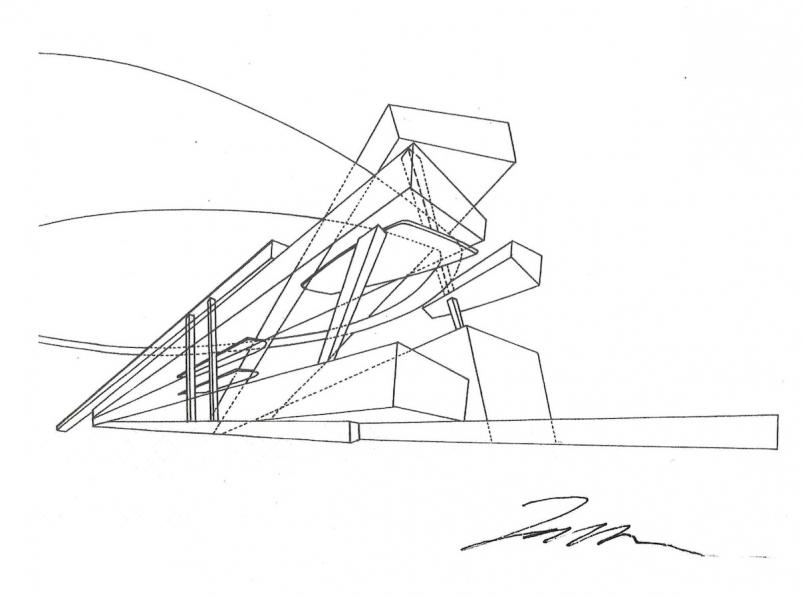 Zaha Hadid Sketches Chelss Chapman