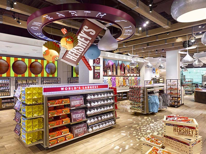 Hershey Chocolate World in Times Square