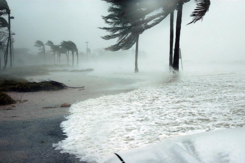 A hurricane in Key West