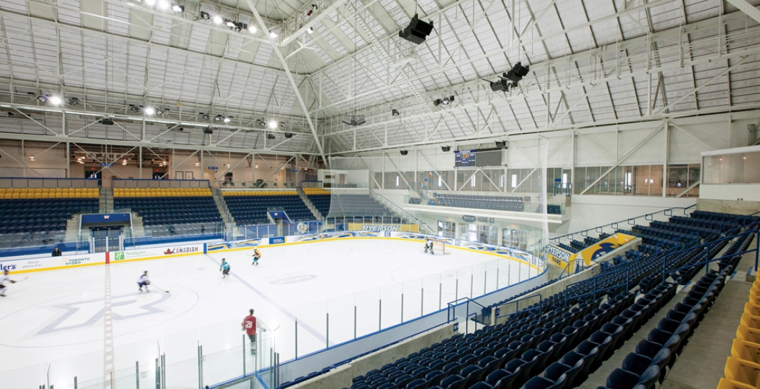 This photo depicts the athletic center project after construction. The $60 milli