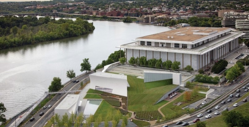 Steven Holl Architects, The Kennedy Center expands for the first time since its 1971 debut
