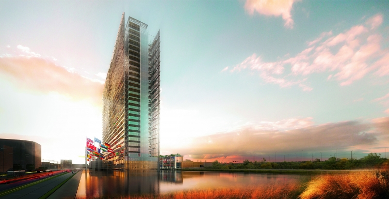 All renderings courtesy Ateliers Jean Nouvel, Dam & Partners, and EPO.
