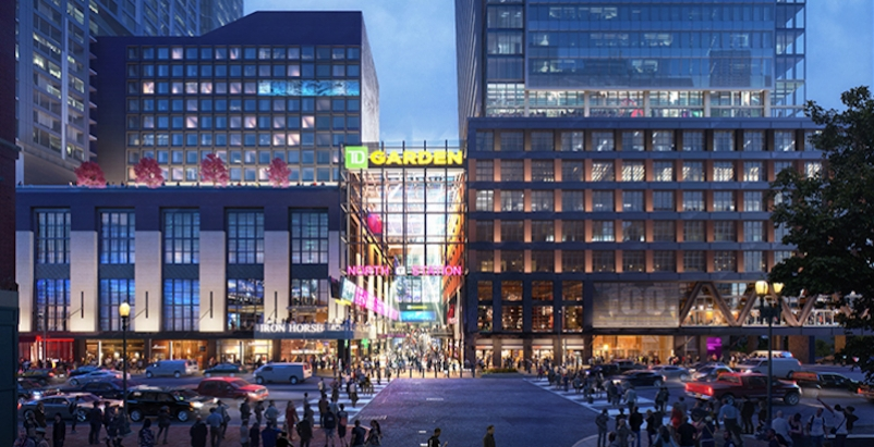 A rendering of the Hub on Causeway