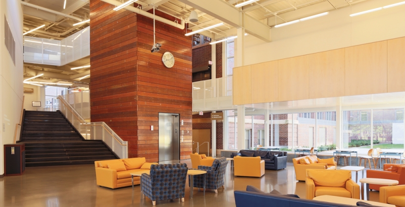 The 135,000-sf, LEED Gold-certified Weitz Center for Creativity at Minnesotas C
