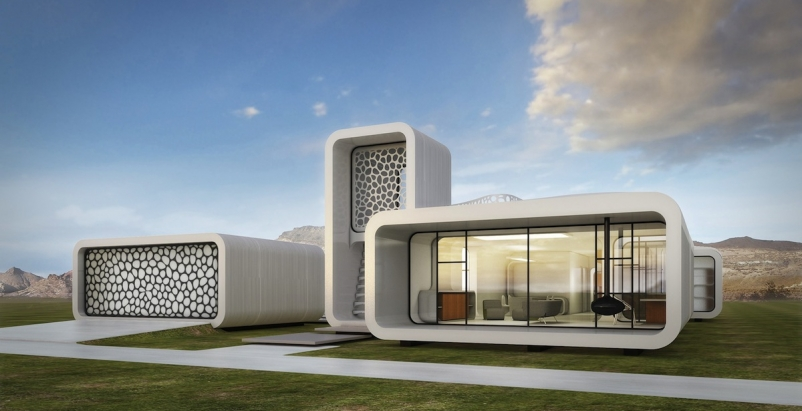 World's first fully 3D-printed office to be produced in Dubai