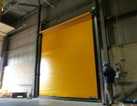 2015 IECC Code recognizes benefits of high-speed doors
