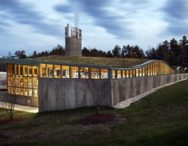 Designed by Centerbrook Architects and Planners, the Hotchkiss School's new Biom