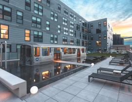 """""""L"""" apartments, Logan Square"""