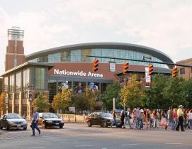 One of the projects that 360 has worked on; Nationwide Arena in Columbus, Ohio.
