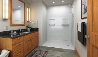 A full bathroom