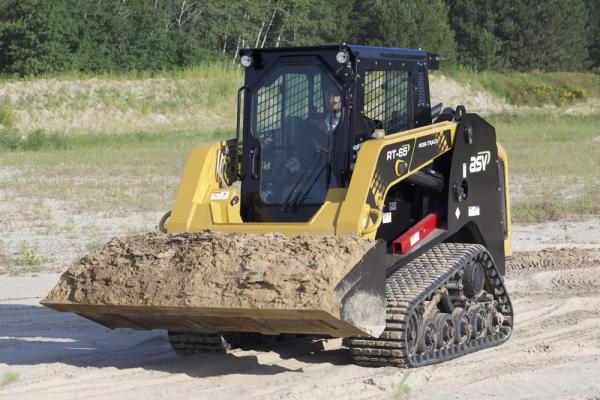 ASV RT-65 CTL has a rated operating capacity of 1,925 pounds.