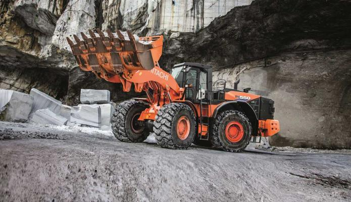 HCMA ZW550-6 wheel loader is the first in the Dash-6 series