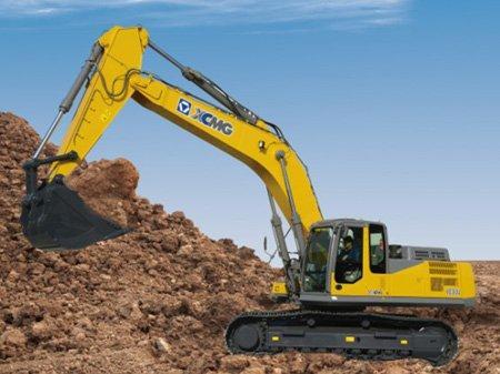 XCMG XE360U excavator has a Cummins engine