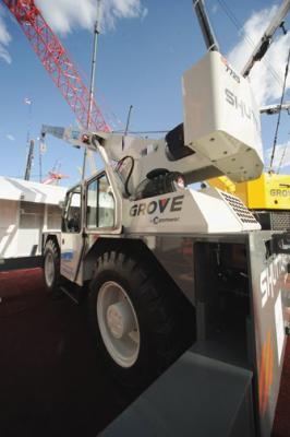 Manitowoc's Grove YB5520 Crane