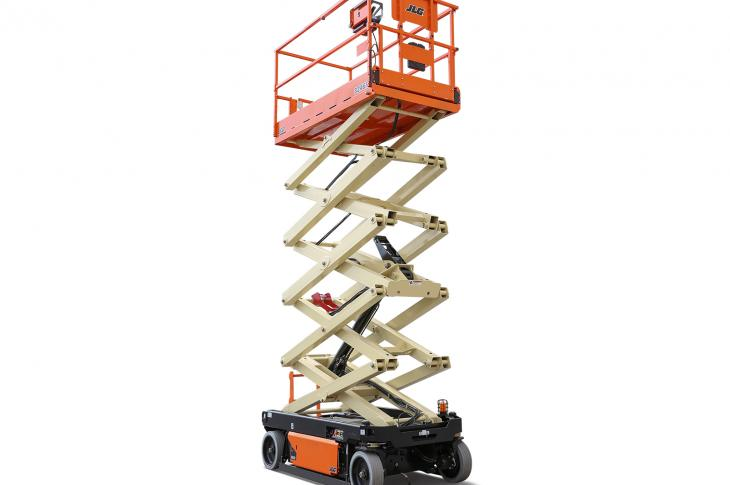 JLG scissor lifts include two new R series models