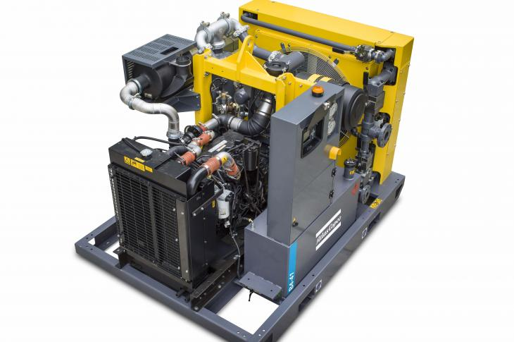 A high-pressure booster range enables an operator to increase the pressure of the primary compressor up to 5,000 psi.