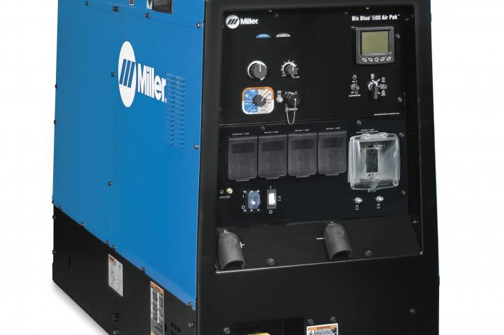 Miller Electric Big Blue Air Pak Welder/Generator Provides Versatility