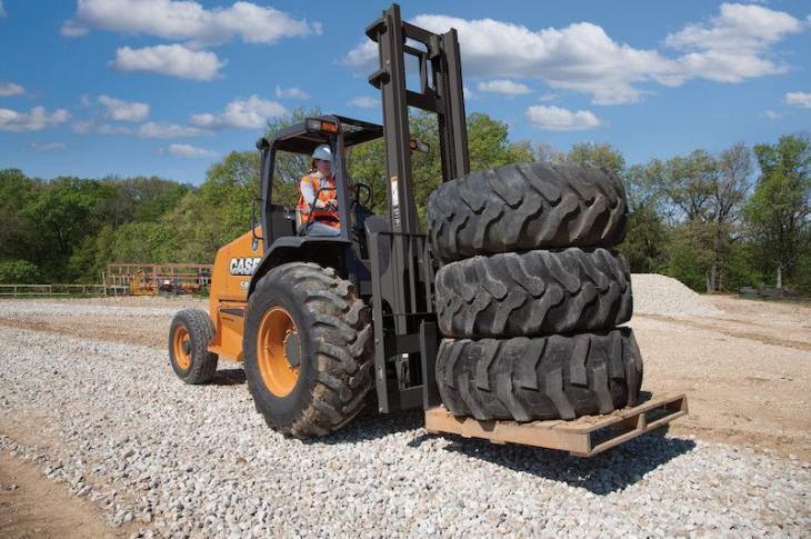 Case 586H, 588H Rough Terrain Forklifts