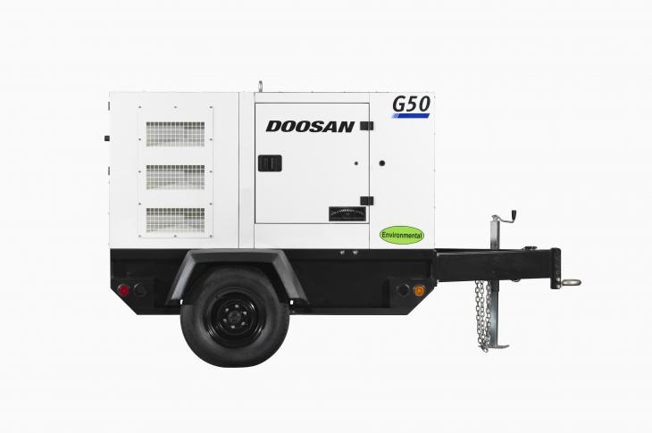 Doosan G50 replaces the G40 with increased output.