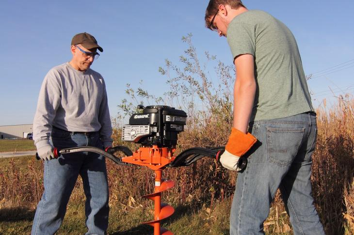 General Equipment M235 Two-Man Hole Digger with Briggs & Stratton Engine