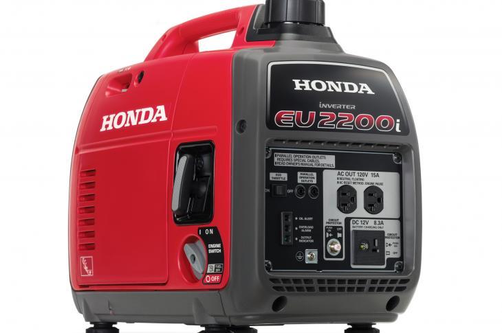 The EU2200i inverter generator is part of the company's Super Quiet Series of generators, replacing the EU2000i model.