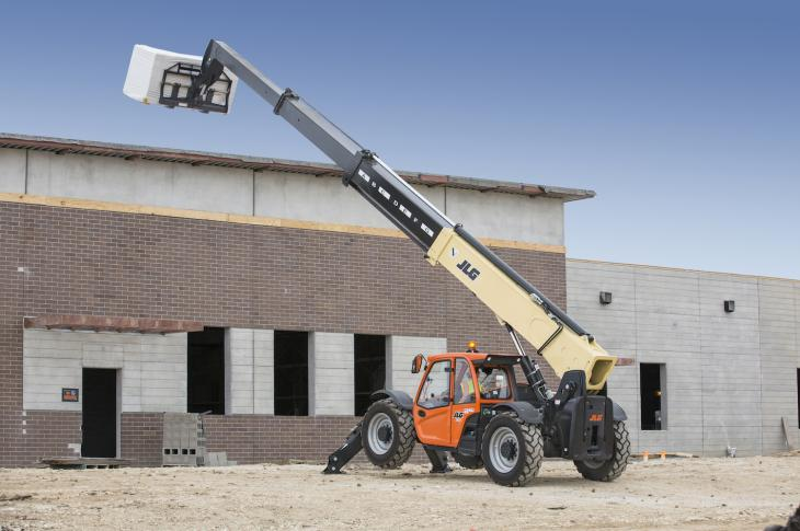 Non-marking tires for JLG and SkyTrak telehandlers are designed to protect sensitive surfaces from unwanted markings.