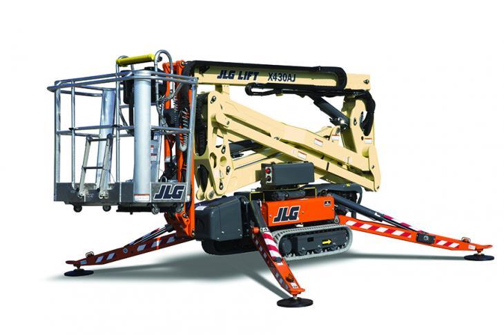 JLG X430AJ Telescoping Boom Work Platform
