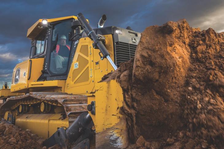 John Deere 550K, 650K, 700K Crawler Dozers | Construction