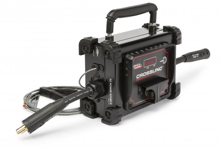 Lincoln Electric CrossLinc Remote allows operators to adjust welding settings at the arc