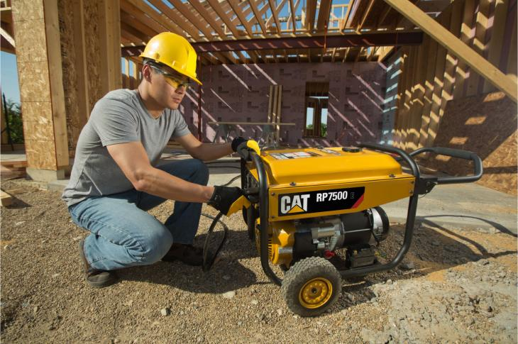 Caterpillar is expanding into the home and outdoor power category with the introduction of the Cat RP Series of portable generators.