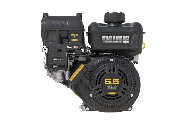 The 6.5-horsepower Vanguard 200 is the first available model in the new line