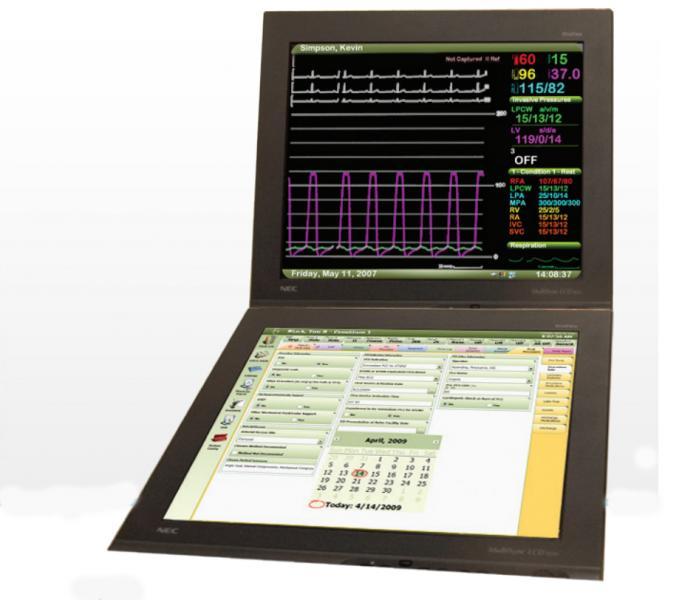 Merge Hemo cath lab hemodynamics monitoring system.