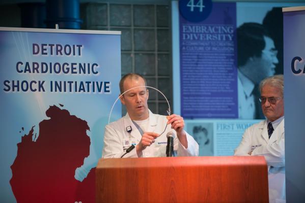 Detroit Cardiogenic Shock Initiative Goes National at TCT 2017