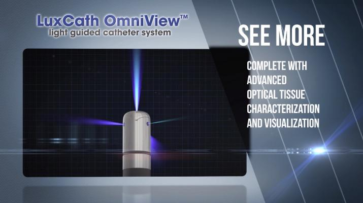 LuxCath Showcases OmniView Light-Guided Ablation Catheter at HRS 2018