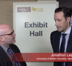Jonathon Leipsic Awarded 2019 DeHaan Award for Innovation in Cardiology