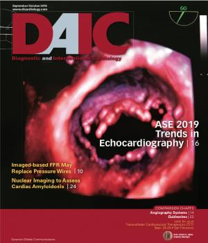 The September-October issue of Diagnostic and Interventional Cardiology (DAIC) magazine. Dave Fornell is the editor.