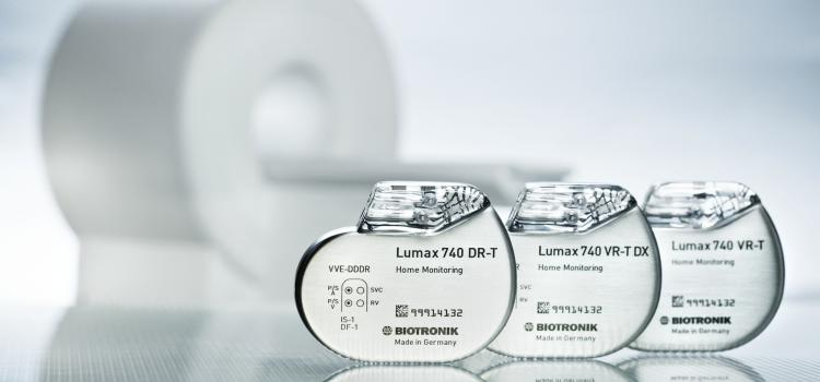 MRI-compatible ICDs is a growing trend in the market. This example is Biotronik's Lumax 740 ICD.