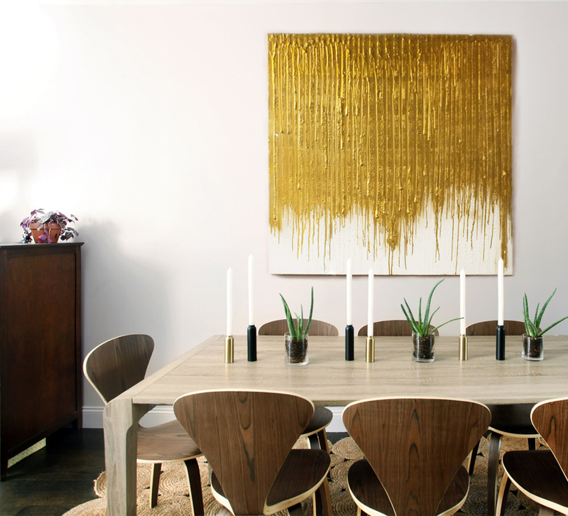 Dining room designed by AphroChic