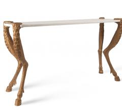 Bliss Studio's Stag Leg console