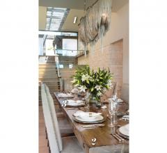 Dining room designed by Barclay Butera
