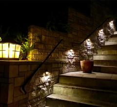 outdoor stairwell LED lighting