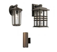 3 outdoor lighting fixtures from Kichler Lighting