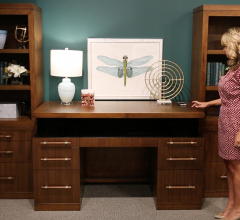 twin star home adjustable height desk