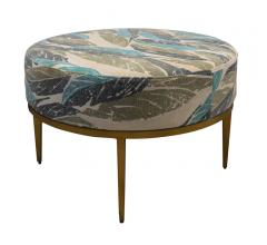 Faraja Coffee Table with a fabric top and wooden base from Selamat Designs