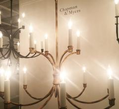 French Country chandelier from the Chapman & Myers collection for Generation Lighting